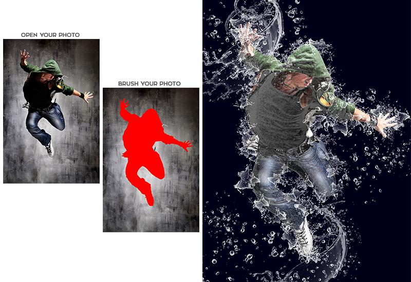 Vibrant photoshop actions bundle