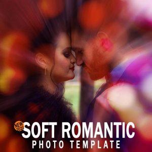 soft romantic photo template
