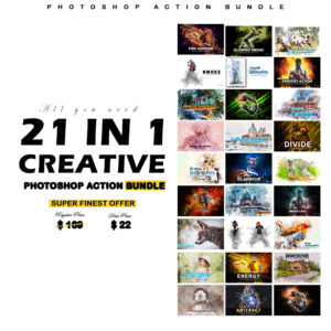 Creative Photoshop Actions Bundle