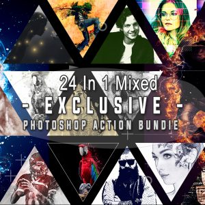 Exclusive Photoshop Actions Bundle
