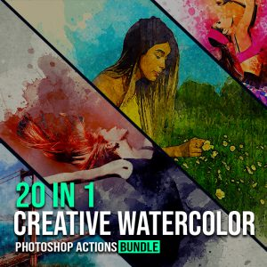 Creative Watercolor Effects