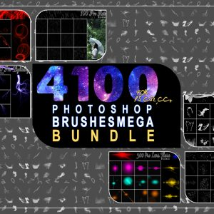 4100++Photoshop Brushes Mega Bundle
