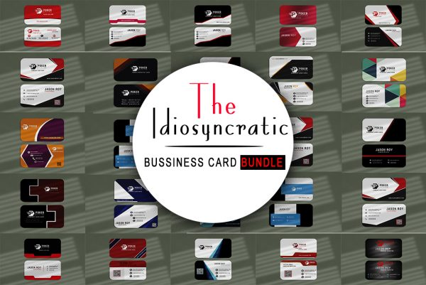 The Idiosyncratic Bussiness Card Bundle