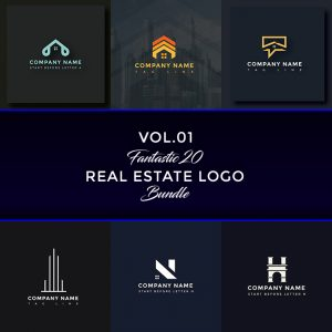 Premium Real Estate Logo Bundle