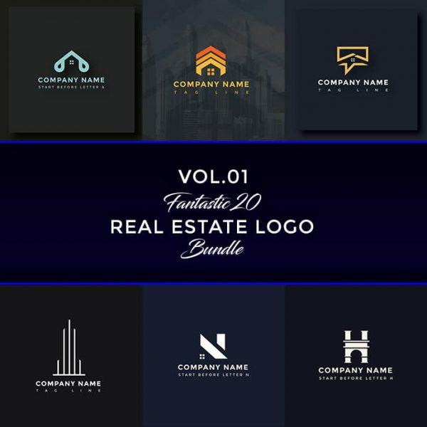 Premium Real Estate Logo Bundle