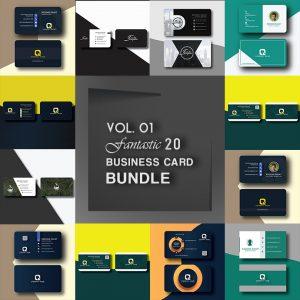 Professional Business Card Bundle Vol.01