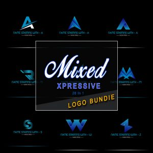 Mixed Expressive Logo Bundle