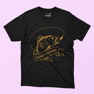5 in 1 Fishing T-shirt Designs Bundle