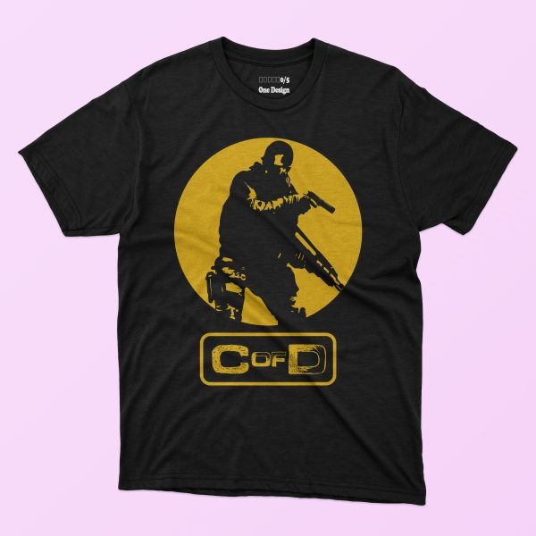 5 in 1 Call Of Duty T-shirt Designs Bundle