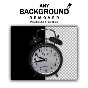 Any Background Remover Photoshop Action