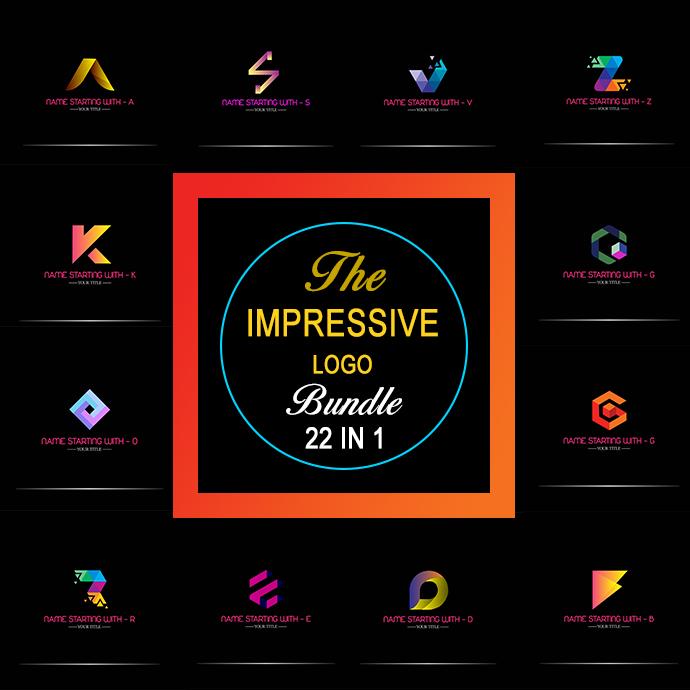 22 IN 1 Impressive Logo Bundle