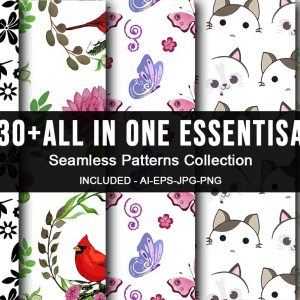 All In One Essential Seamless Patterns Bundle