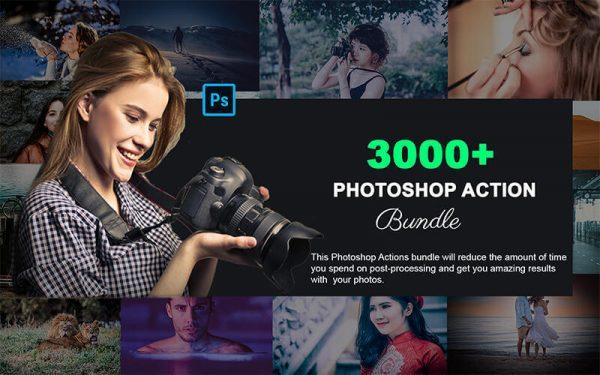 3000+ Professional Photoshop Actions Bundle
