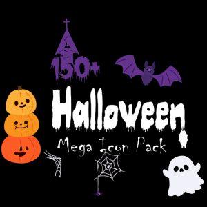 150+ Halloween Mega Icon Pack